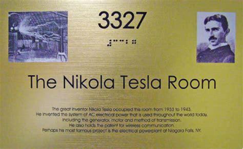New Yorker Hotel Tesla Room Nikola Tesla S Birthday On July 10 A Day Of Science