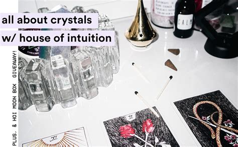 house of intuition talking all about crystals w the house of intuition a crystal giveaway