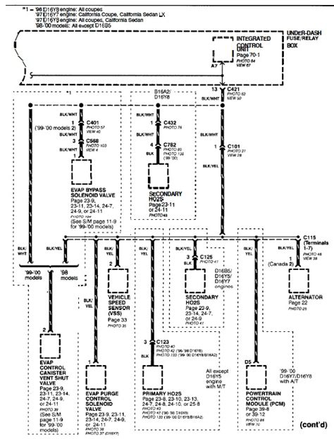 100 b16a alternator wiring diagram engine diagram
