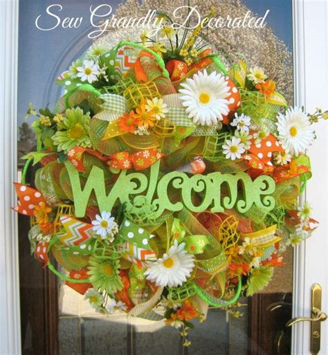 1110 best spring and summer wreaths images on pinterest spring 17 best images about spring summer wreaths more on