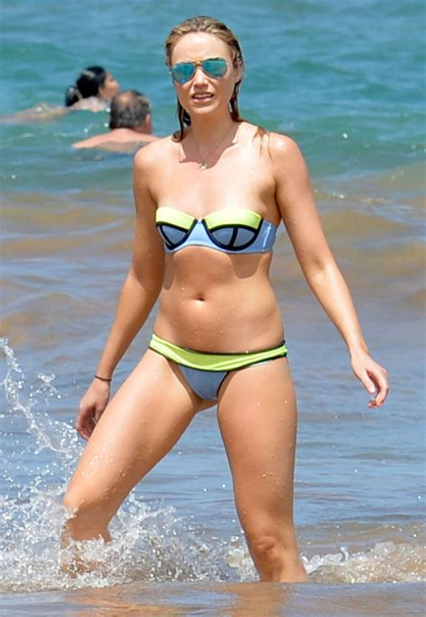 Katrina Bowden In Bikini At A Beach In Maui Hawtcelebs Hawtcelebs