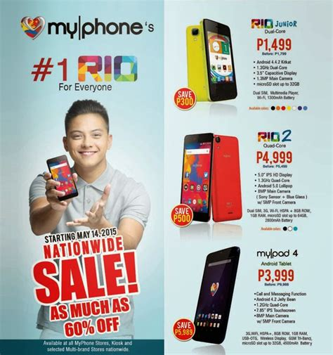 myphone mobile phones price list myphone nationwide sale official price list up to 60