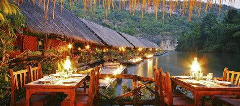 hutte royale resort reviews thailand schwimmendes hotel in kanchanaburi fluss kwai