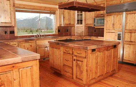 knotty pine kitchen cabinets custom wood doors made in photos of knotty pine kitchens