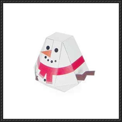 Papercraft Snowman - papercraft snowman for free paper