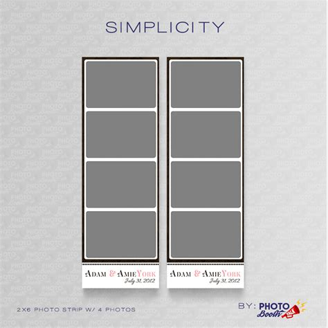 photo booth template psd simplicity photoshop psd files photo booth talk