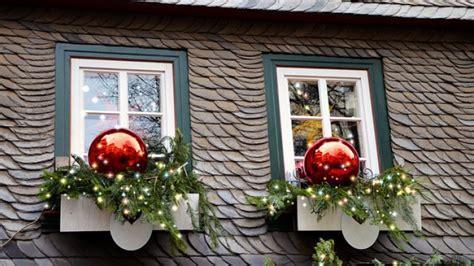 Weihnachtsdeko Für Die Fensterbank by Wohnzimmer Wandgestaltung