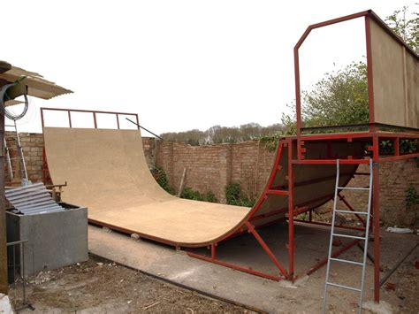 how to build a halfpipe in your backyard 9ft half pipe by crash fm on deviantart