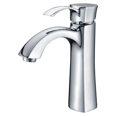 kohler rubicon single hole  handle bathroom faucet  polished chrome    cp  home