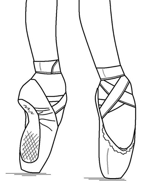Nutcracker Ballerina Coloring Pages by Pointe Ballet Ballerina Shoes Coloring Pages Shoes