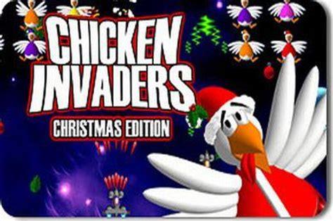 chicken invaders full version free download 2 chicken invaders 2 christmas edition full version game