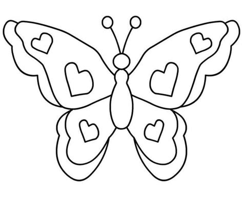 black and white coloring pages of butterflies butterfly free images at clker com vector clip art