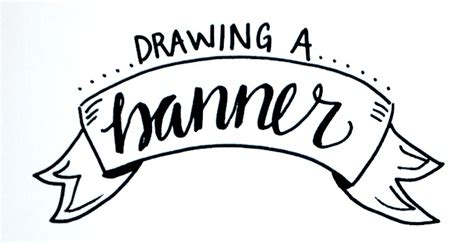 Lettering Tips For Creation Of basic lettering drawing a banner latta creations