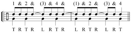 pattern tap alternative tapping exercises module two