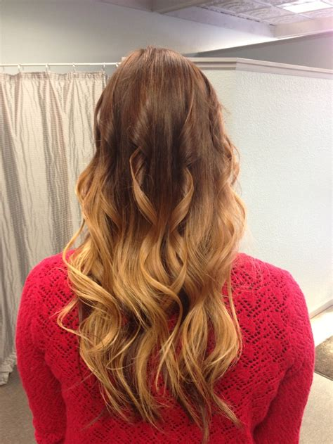 brunette to blonde ombre ombre hair brunette to blonde beauty pinterest