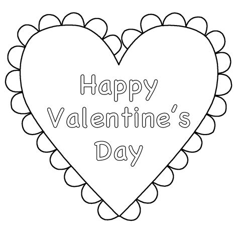 valentines day coloring pictures valentines day coloring page coloring home