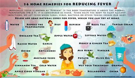 26 home remedies for reducing fever home remedies