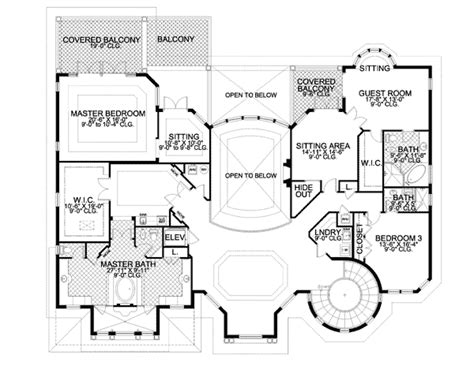 storybook floor plans storybook manor fit for a king 32069aa 2nd floor