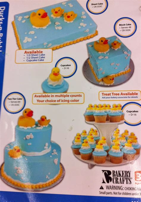 Walmart Bakery Baby Shower Cakes by Tea Time Cupcakes Rubber Duck Baby Shower