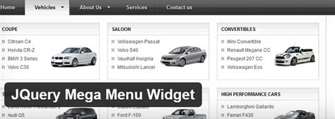 jquery menu templates the best drop menu plugins af templates