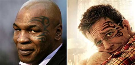hangover face tattoo mike tyson s artist sues ink in the