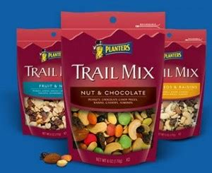 free or cheap planters trail mix and nuts