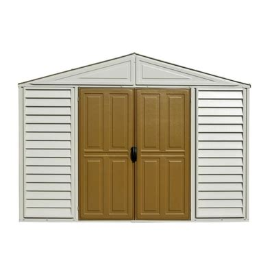 duramax woodside vinyl shed 10 x 8 ft duramax building products 10 ft x 8 ft vinyl storage shed