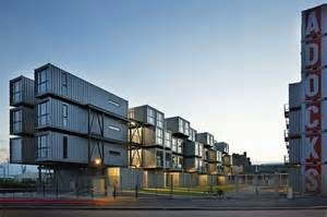 Shipping Container Apartments When Your Is A Shipping Container Student Housing Designed By Cattani Architects The Fox