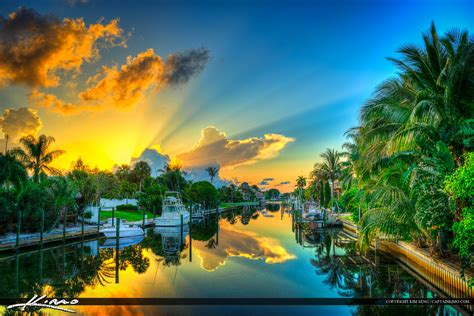 Awesome Where Is Palm Beach Gardens Fl #4: Waterfront-Properties-Along-Cabana-Colony-Canal.jpg