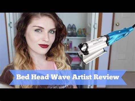 bed head wave artist how i wave my hair using bed head s wave artist agaclip