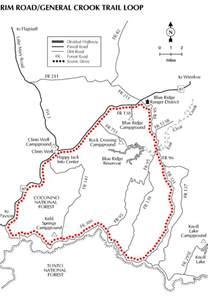 arizona forest road map lakes or mogollon lakes arizona travels tours