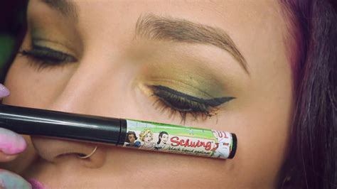 Eyeliner The Balm schwing liquid eyeliner review and swatch the balm