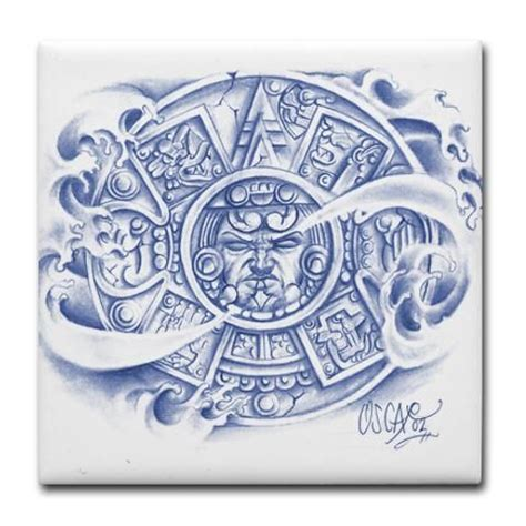 aztec calendar tattoo design two aztec calendar search savioso