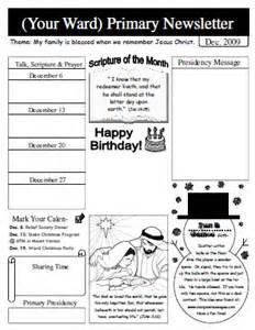 primary school newsletter templates sugardoodle net