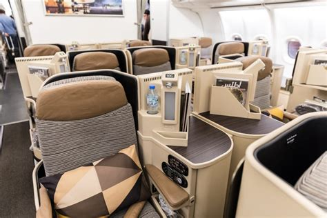 etihad airways business class seating plan review etihad airways business class abu dhabi to