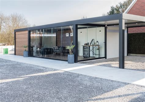 aluminium tuinhuis op maat metallooks carports en tuinhuizen op maat aluminium