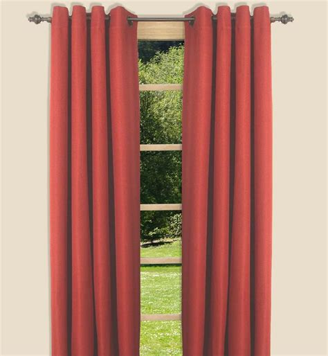 canvas curtain canvas blackout curtain panel in 5 colors