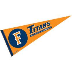 cal state fullerton colors cal state fullerton pennant and pennants for cal state