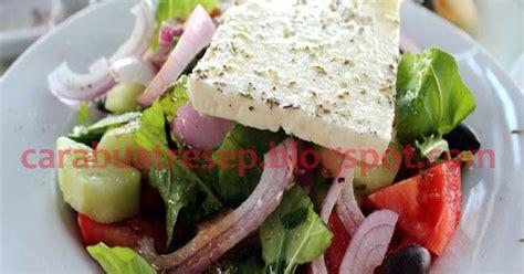cara membuat salad buah dengan gambar cara membuat salad yunani resep masakan indonesia