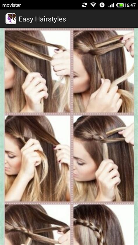hairstyles to do at home step by step easy hairstyles step by step android apps on google play