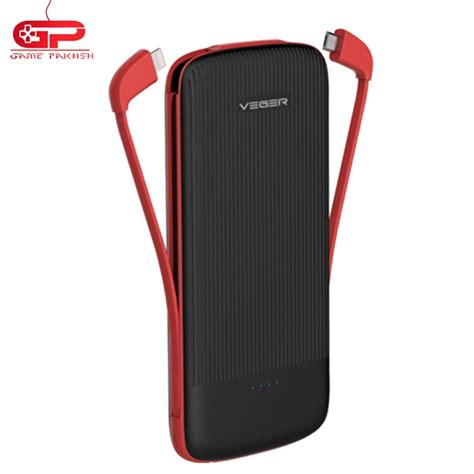 Power Bank Veger 10000 Mah veger w1012 10000 mah black power bank 4 寘