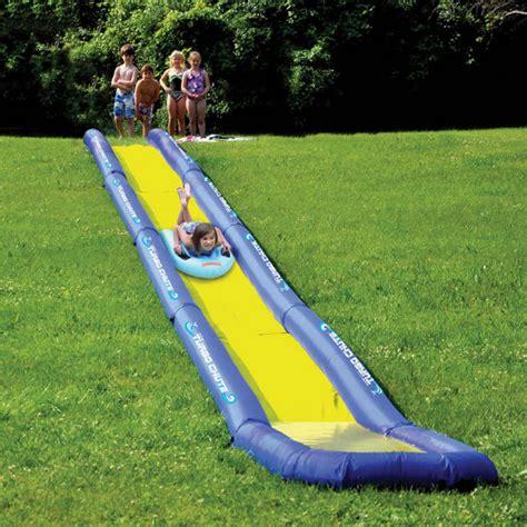 backyard slip n slide world s longest backyard water slide shut up and take my