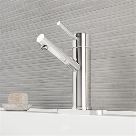 watersense kitchen faucet shop vigo chrome 1 handle single watersense bathroom