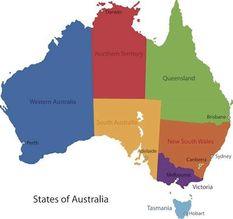 australia map australia facts for facts about australia for
