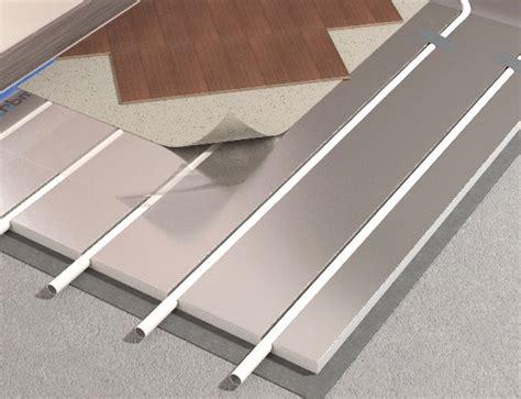 pannelli radianti elettrici a pavimento impianto radiante a umido e a secco le differenze