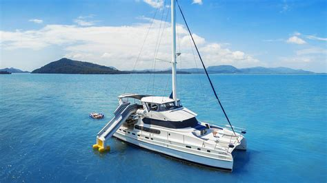 catamaran yacht phuket catamaran charter phuket blue lagoon 70 boat in the