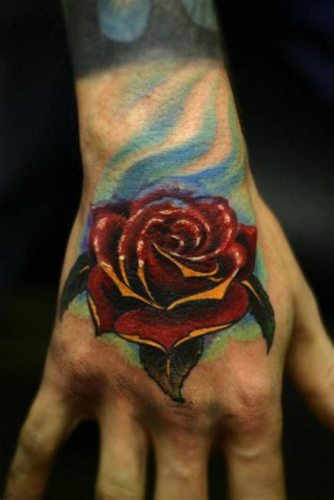 red handed tattoo images designs