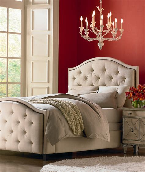 Hgtv Home Custom Upholstered Vienna Arched Bed By Bassett Hgtv Bedroom Furniture