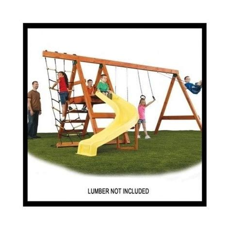 backyard swing set kits swing set hardware custom playset kit accessories