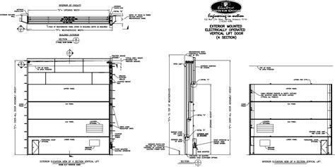 garage door section
